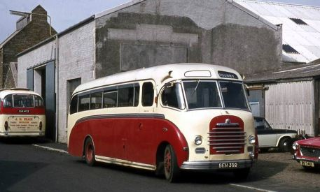 1952 Bedford SB with Duple C35F bodywork.