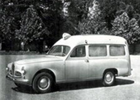 1953 Alfa Romeo 1900 Ambulance- coachwork by Carrozzeria Colli of Milan a