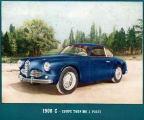 1953 Alfa Romeo 1900 C Coupé Touring