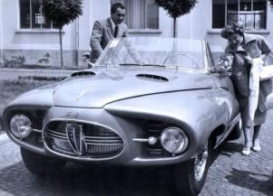 1953 Alfa Romeo 1900C Astral Convertible a