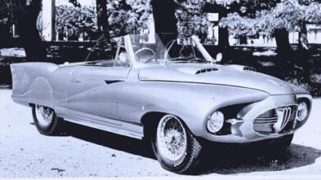 1953 Alfa Romeo 1900C Astral Convertible b
