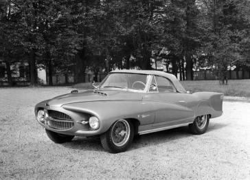 1953 Alfa Romeo 1900C Astral Convertible c