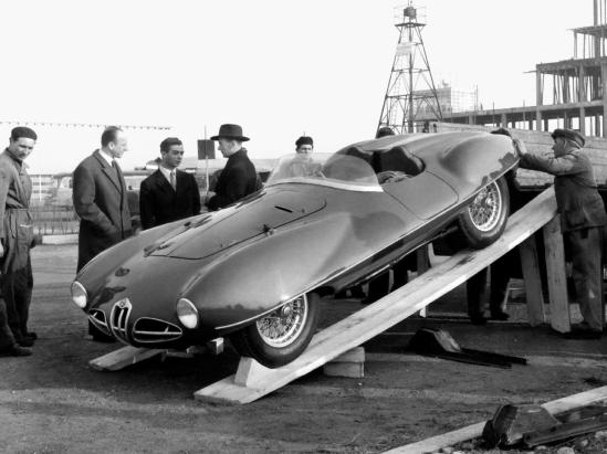 1953 Alfa Romeo C52 Disco Volante Spider Touring motore 2000cc and one of the Spider´s are 3000cc