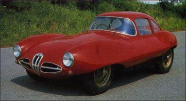 1953 Alfa romeo Disco Volante Coupe