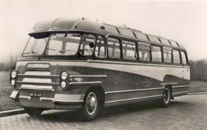 1953 Bedford Hainje NB-78-49 Bedford SB with Hainje coachwork