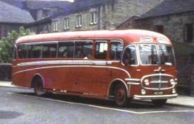 1953 Bedford SB 26568 Plaxton C35F seats