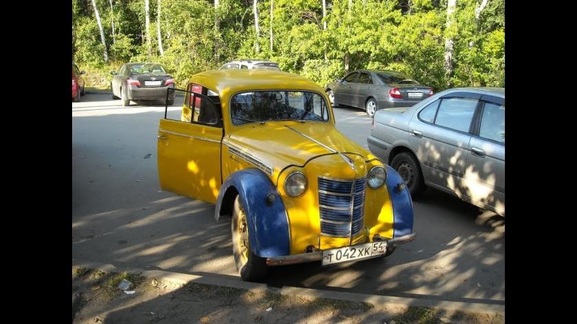 1953 Москвич 401 - cab
