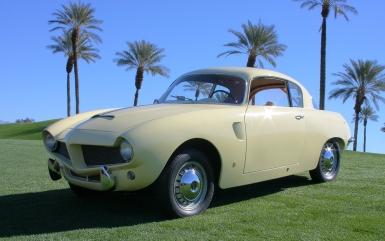 1953 Fiat 1100 Stanguelini Berlinetta by Bertone