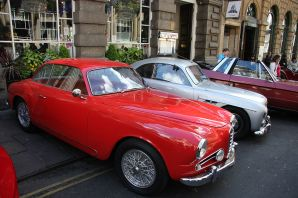 1954 Alfa Romeo 1900 C Super Sprint Touring 1975cc red