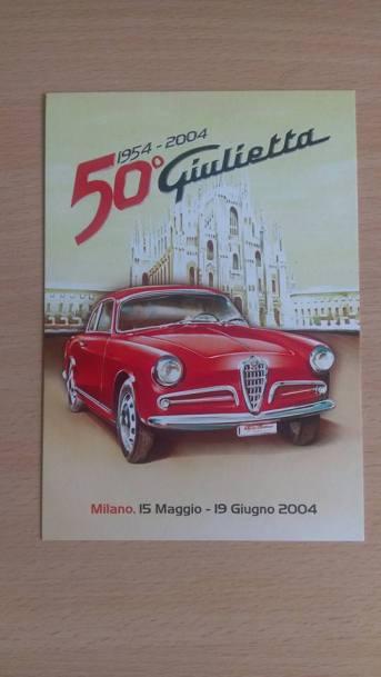 1954 Alfa Romeo Guilietta ad