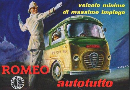 1954 Alfa Romeo P5 Autotutto