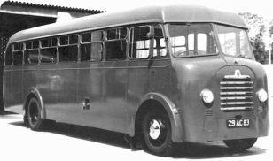1954 Bedford SB 29-AC-83 Mulliner C29F Air Ministry