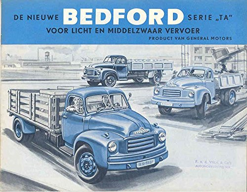1954 Bedford TA Truck Sales Brochure Dutch