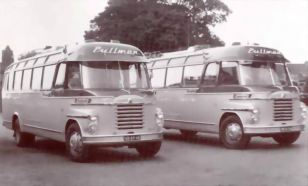 1954 Bedford-Verheul WSM 5001 +5002 Pullman's
