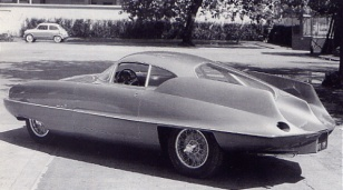 1955 Alfa romeo bat9 tyl