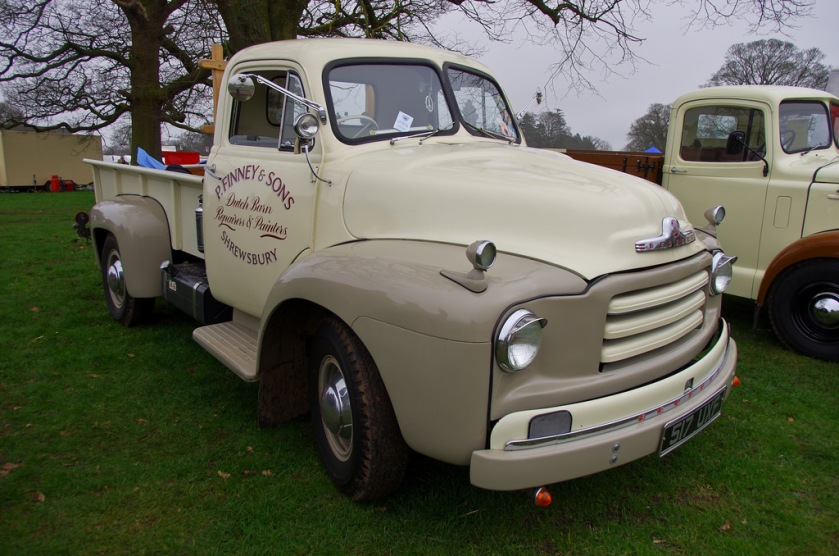 1955 Bedford A-Series 1-ton pickup (2800cc)