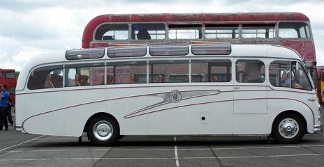 1955 Bedford Duple Vega UK