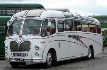 1955 Bedford Duple Vega UKa