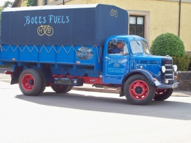 1955 Bedford OLBC 5 ton truck Beutifully preserved truck of Botts Fuels