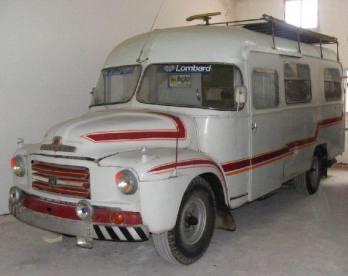 1956 Bedford A2Z Ambulance