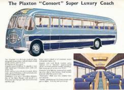 1956 Bedford Plaxton Consort Bus Brochure