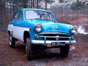 1957-1961 Москвич 410-410Н