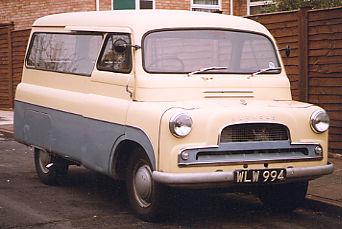 1957 Bedford Blitz earlier times
