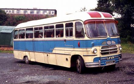 1957 Bedford SBG Yeates Europa C41F