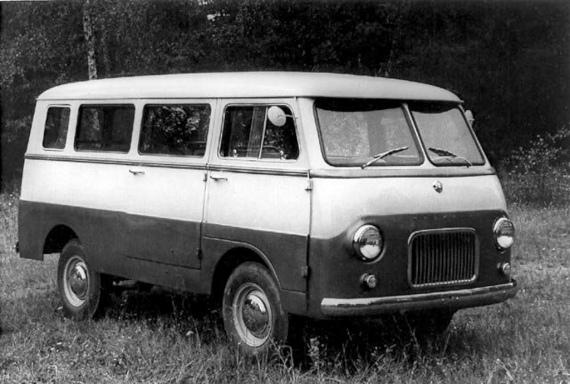 1957 MZMA Moskvitch A9