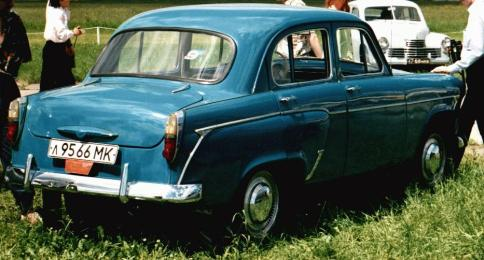 1958-1962 Moskvich-407 rear