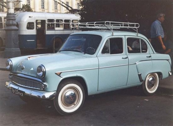 1958-1963 Москвич 407