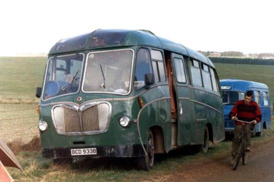 1958 Bedford C4Z2 Duple Vista C29F