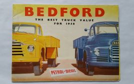 1958 Bedford Truck Sales Brochure Booklet Poster 1 of 4 See More