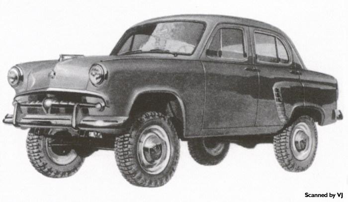 1958 Moskvich 410 - 4x4 - fVl (Russia)