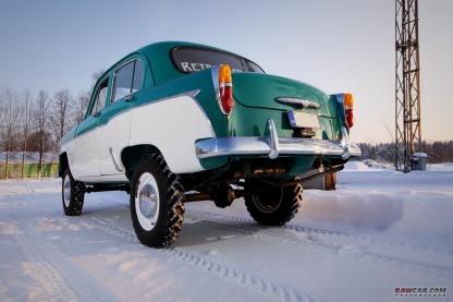 1959 AZLK-410N rear