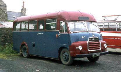1959 Bedford C4Z1 with Dennis B30C bodywork