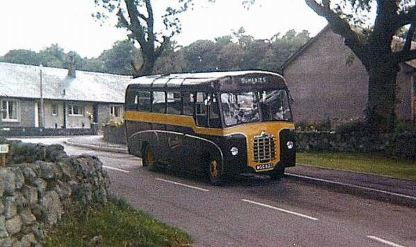 1959 Bedford C5 with Duple bus body, WGG631