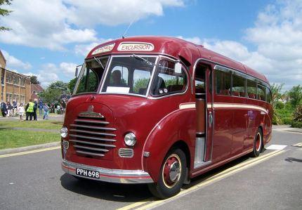 1959 Bedford Duple PPH 698