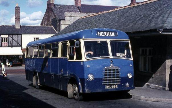 1959 Bedford SB1 built in 1959 with Duple B43F bodywork