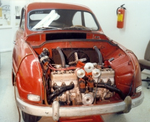 1959 Saab 'Monster' experimental car