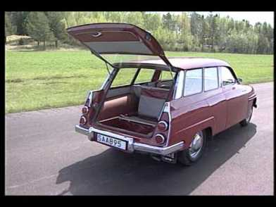 1960 - 1978 SAAB 95