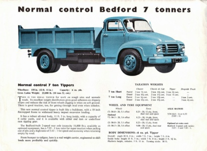 1960 Bedford brochure p. 2. (David Dalton)