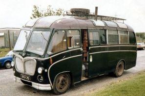 1960 Bedford C5C1 Duple Vista C21FM Ex-MacBrayne Glasgow