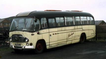 1960 Bedford SB of around 1960 with Duple Super Vega C41F bodywork