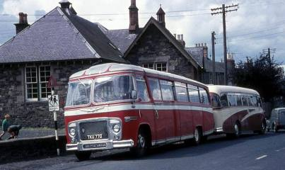 1960 Bedford SB with Burlingham Seagull 60 bodywork