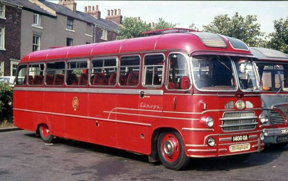 1960 Bedford SB1 with a Yeates Europa C41F body