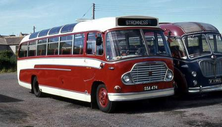1960 Bedford SB1 with Duple Super Vega C39F bodywork