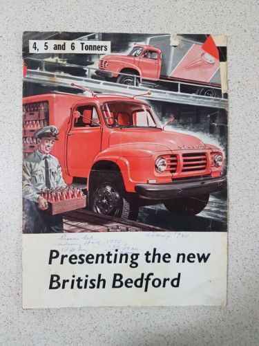 1960 British Bedford Truck Sales Brochure