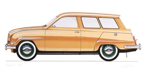 1960 Saab 95 Cartype