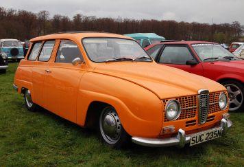 1960 Saab 95 luvulta